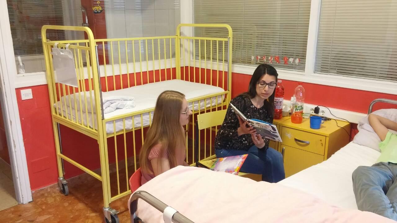 Noć knjige na Dječjem odjelu