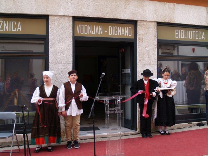 Otvorenje novouređene Knjižnice Vodnjan