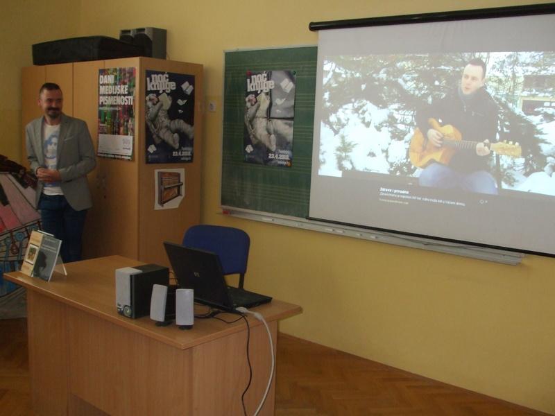Susret s kajkavskim pjesnikom Miljenkom Hršakom