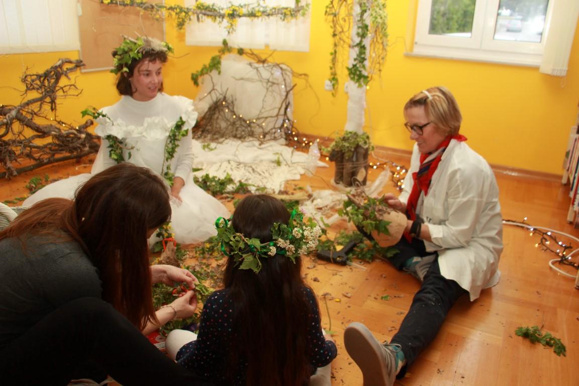 Vile i vilenjaci iz davnina: radionica/maštaonica s tetom Katom
