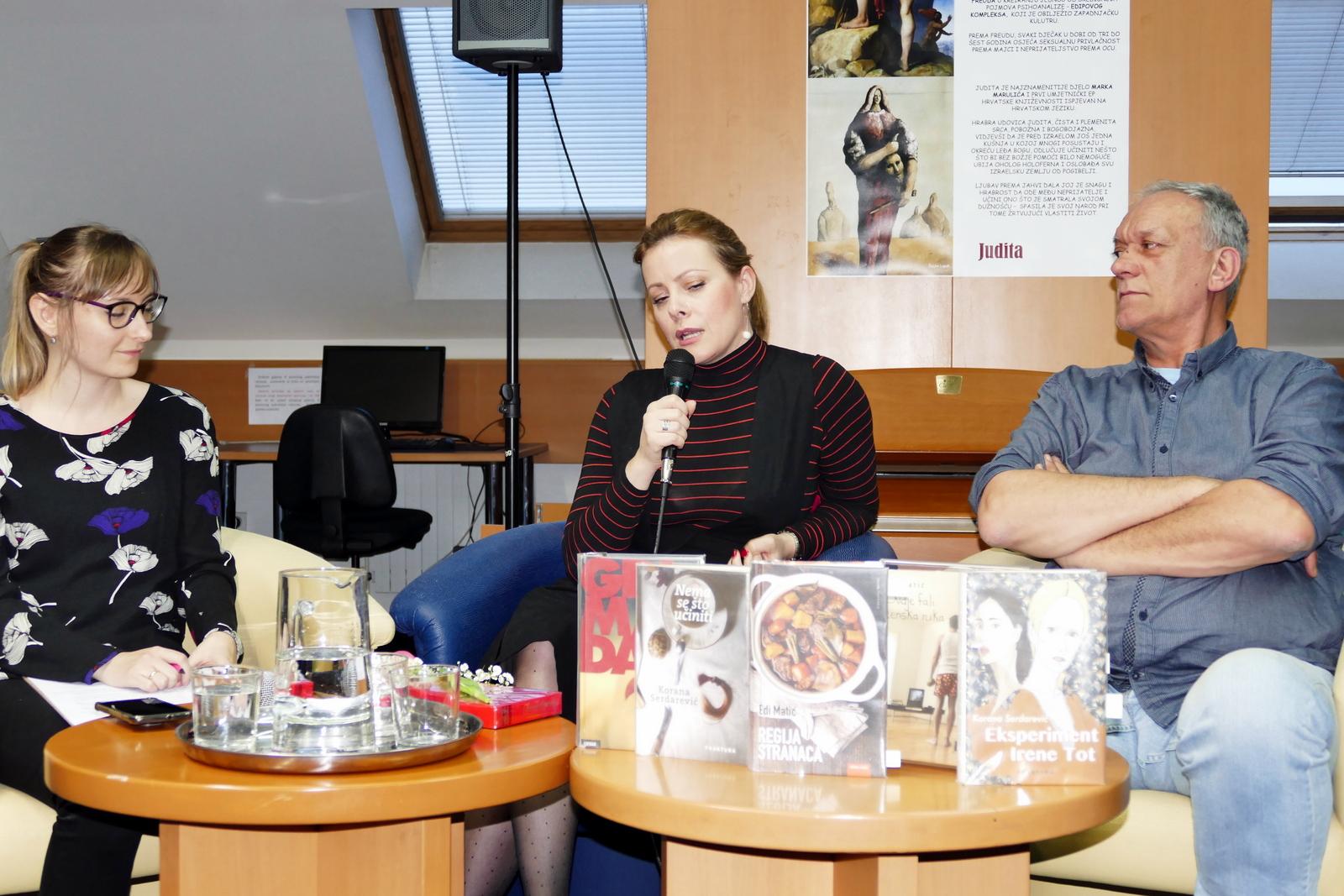 Književni susret s Koranom Serdarević i Edijem Matićem