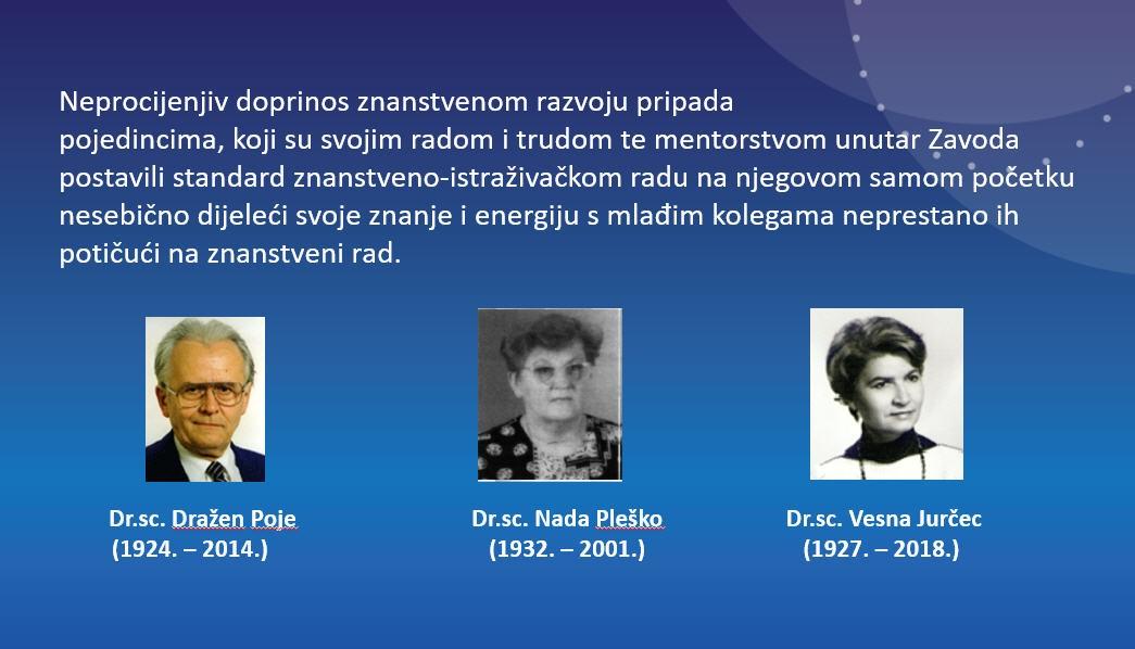 Naši junaci - nositelji primijenjenih istraživanja u DHMZ-u