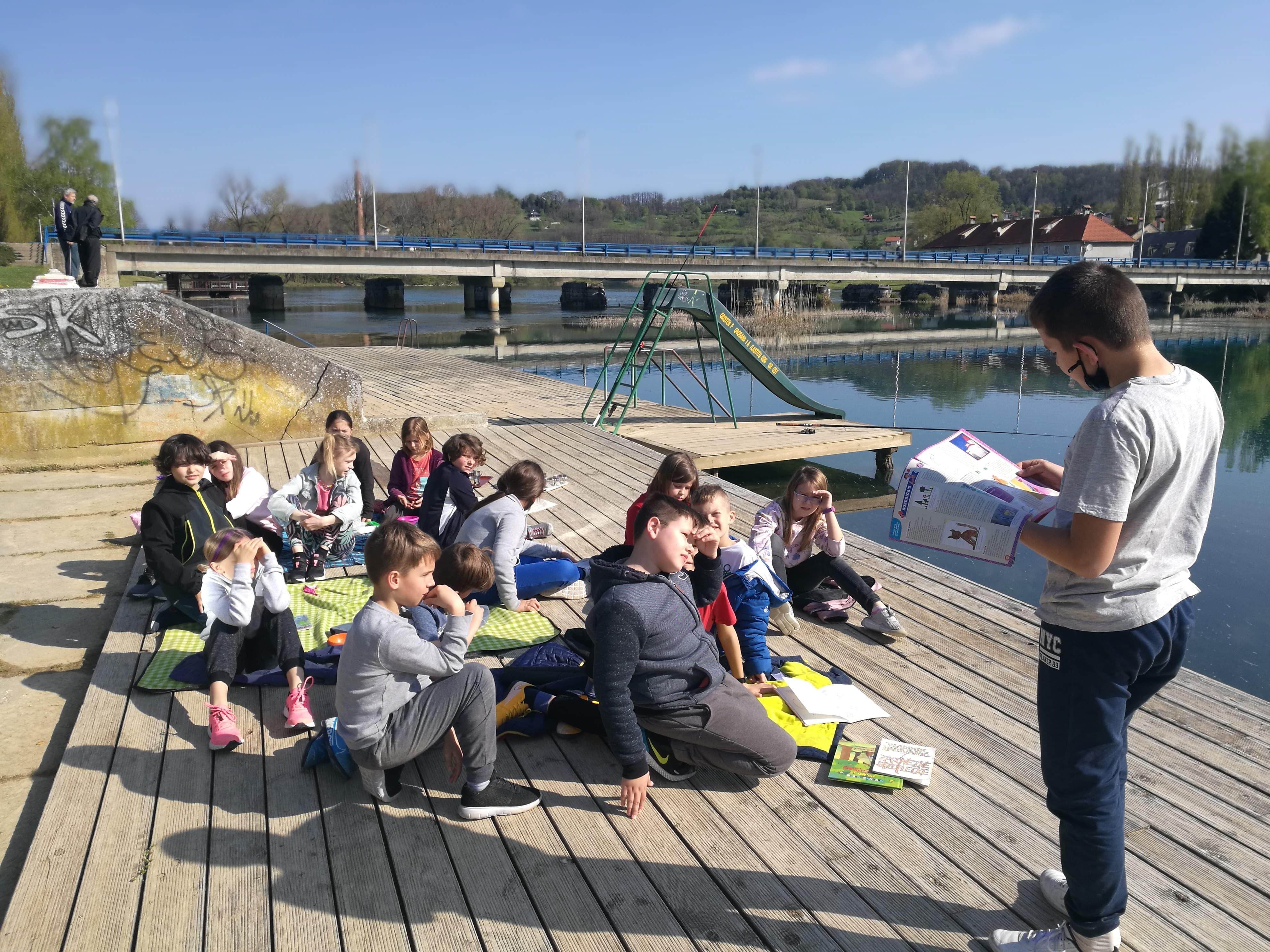 Piknik s knjigom na Mrežnici