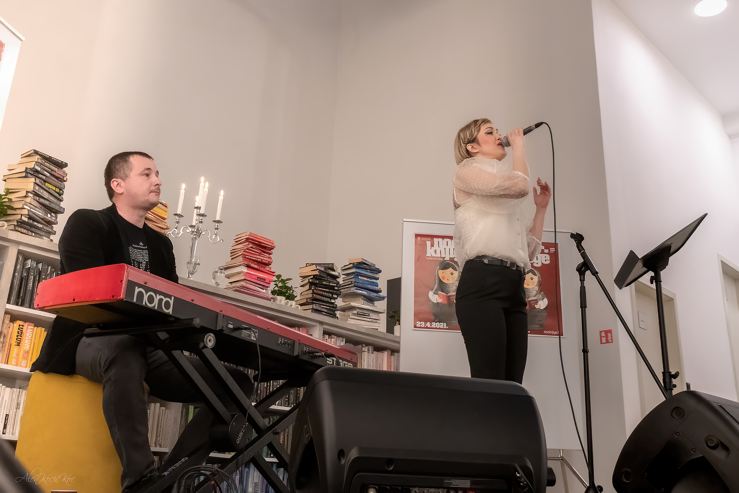 Glazbeni nastup Ivane Kindl
