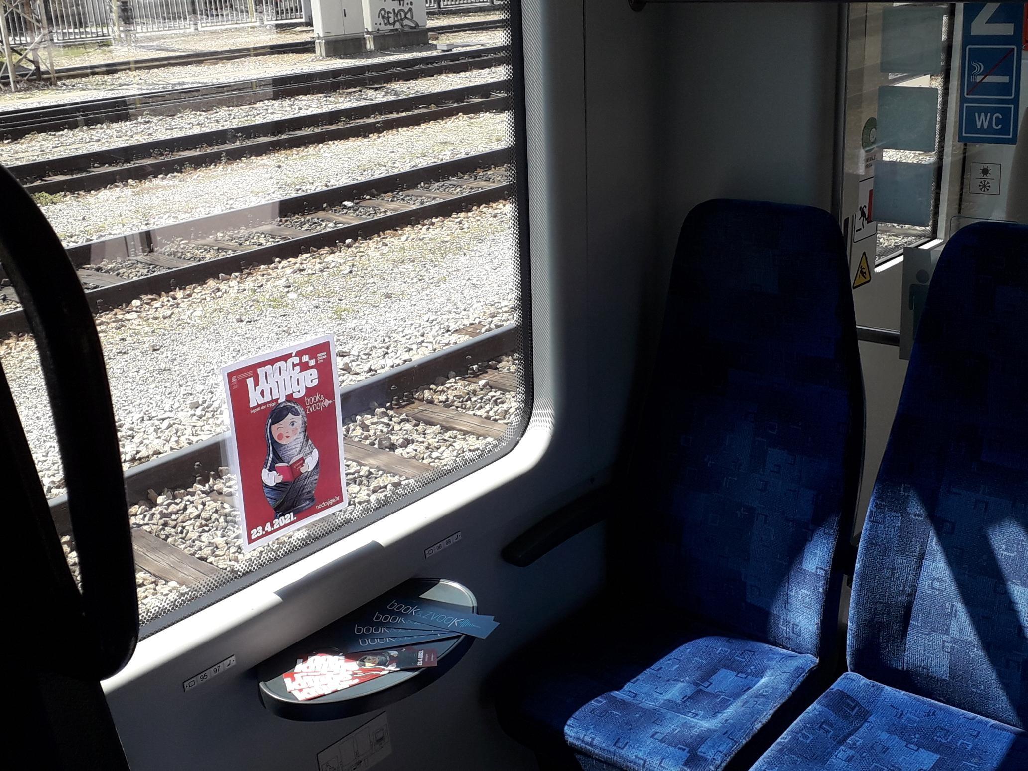 Putuj s knjigom – Noć knjige u vlakovima